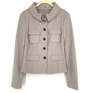 Marc Cain Wool Cashmere Blazer Jacket